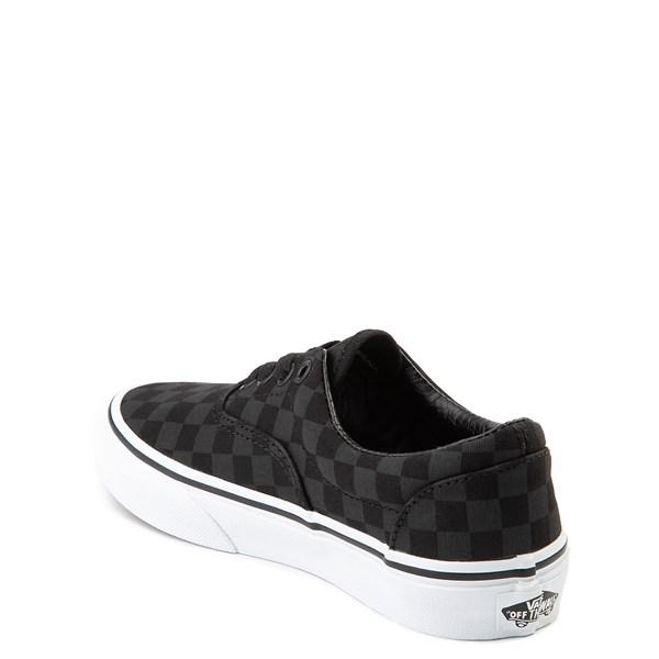 alternate view Vans Era Tonal Checkerboard Skate Shoe - Little Kid / Big Kid - BlackALT2