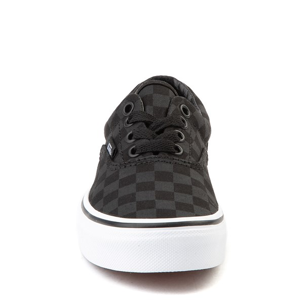 alternate view Vans Era Tonal Checkerboard Skate Shoe - Little Kid / Big Kid - BlackALT4