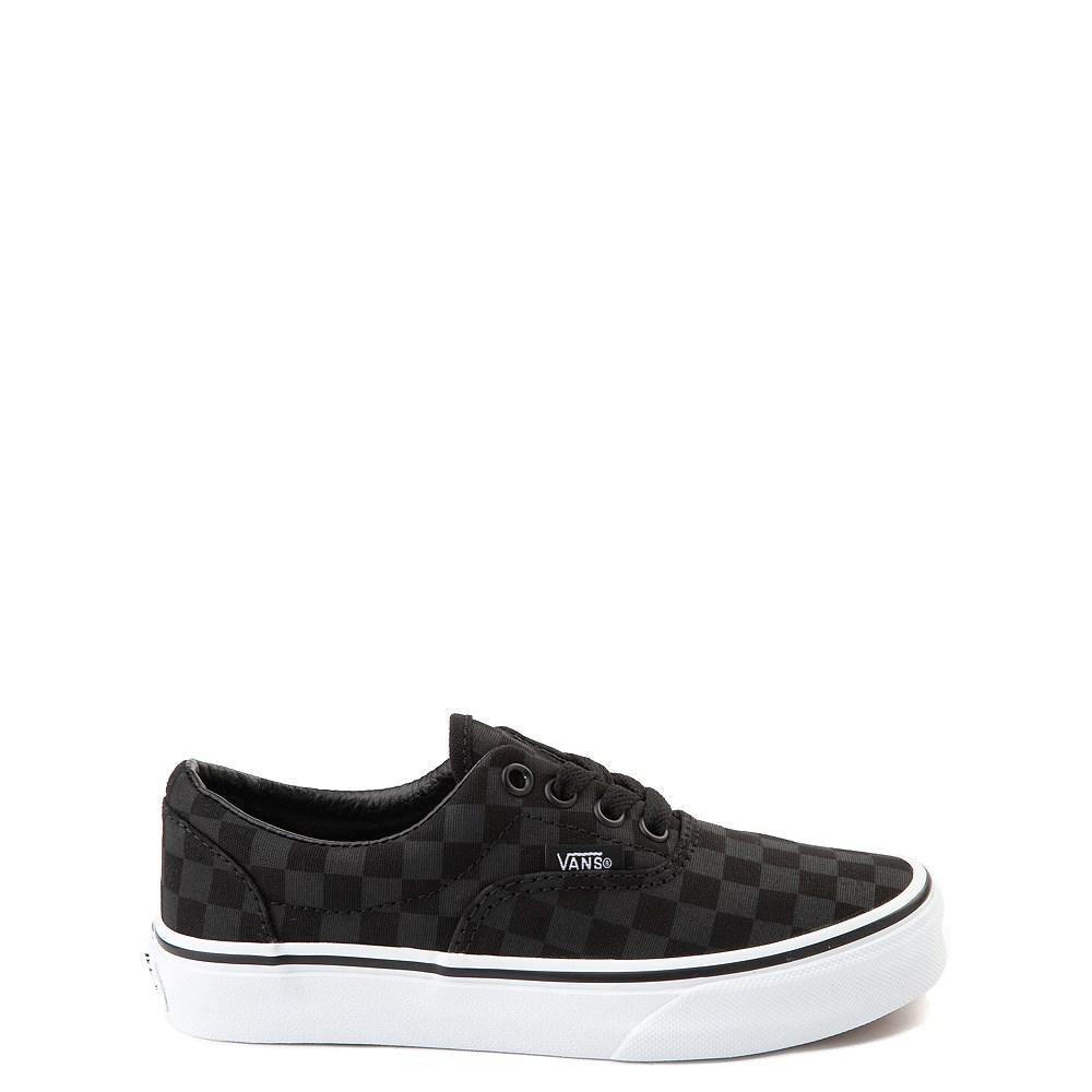 Vans Era Tonal Checkerboard Skate Shoe - Little Kid / Big Kid - Black