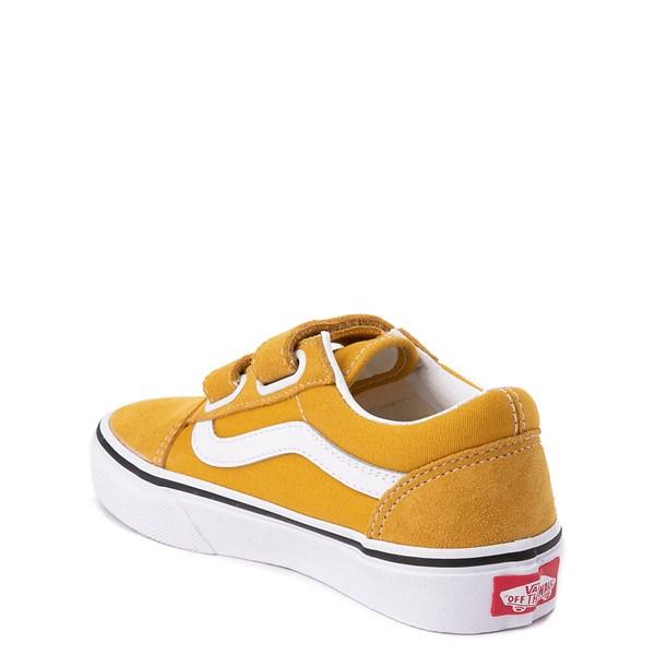 alternate view Vans Old Skool V Skate Shoe - Little Kid / Big Kid - Arrowwood YellowALT2