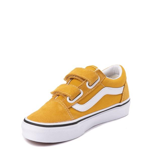 alternate view Vans Old Skool V Skate Shoe - Little Kid / Big Kid - Arrowwood YellowALT3