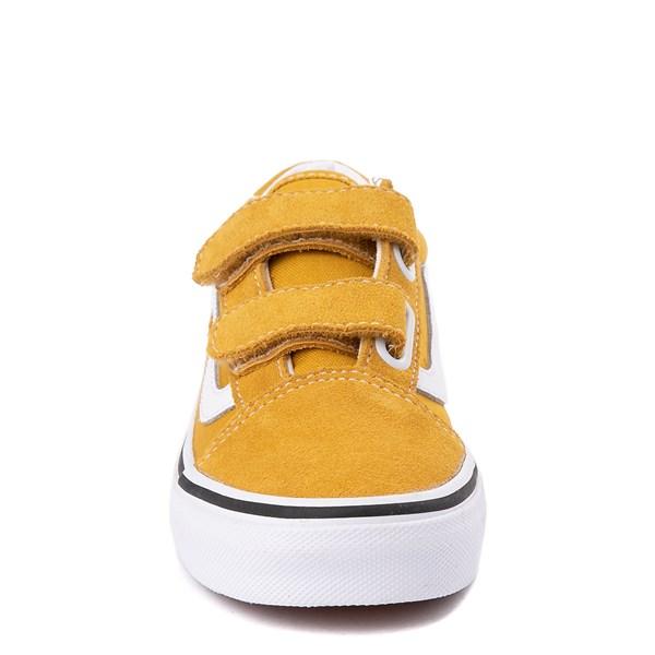 alternate view Vans Old Skool V Skate Shoe - Little Kid / Big Kid - Arrowwood YellowALT4