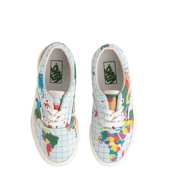 "alternate view Vans Era ""Save Our Planet"" Skate Shoe - Little Kid - White / MultiALT7"