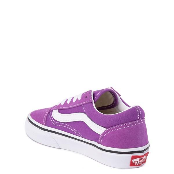 alternate view Vans Old Skool Skate Shoe - Little Kid / Big Kid - Dewberry PurpleALT2