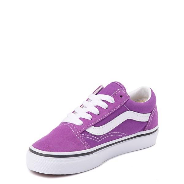 alternate view Vans Old Skool Skate Shoe - Little Kid / Big Kid - Dewberry PurpleALT3