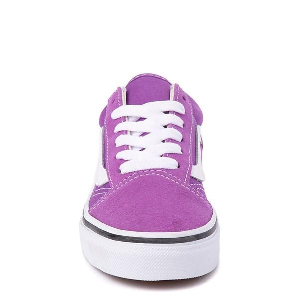 alternate view Vans Old Skool Skate Shoe - Little Kid / Big Kid - Dewberry PurpleALT4