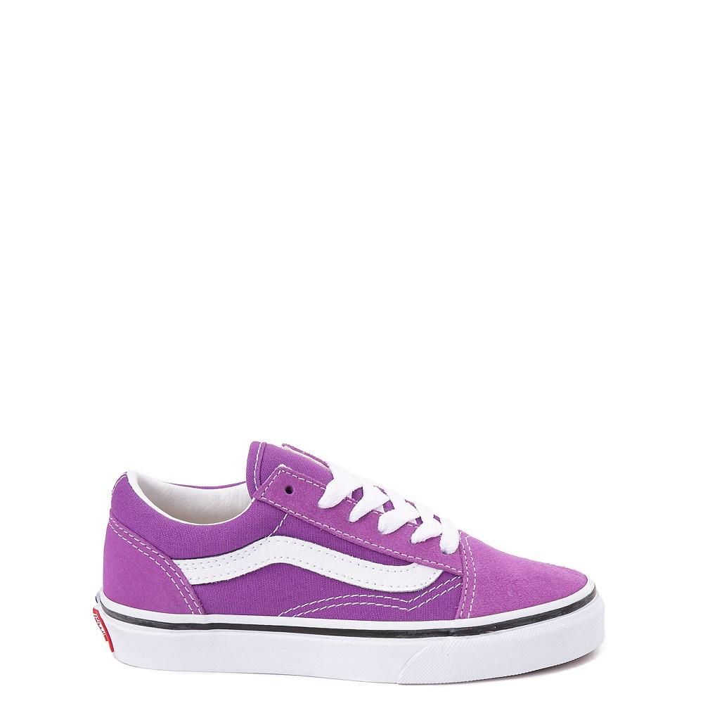 Vans Old Skool Skate Shoe - Little Kid / Big Kid - Dewberry Purple