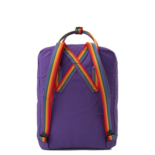 alternate view Fjallraven Kanken Backpack - Purple / MultiALT1