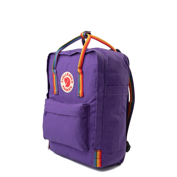 alternate view Fjallraven Kanken Backpack - Purple / MultiALT2