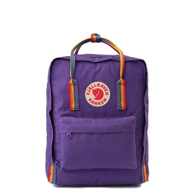 Main view of Fjallraven Kanken Backpack - Purple / Multi