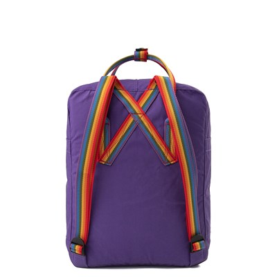 Alternate view of Fjallraven Kanken Backpack - Purple / Multi
