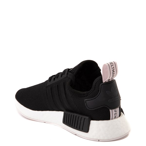 alternate view Womens adidas NMD R1 Athletic Shoe - Black / OrchidALT2