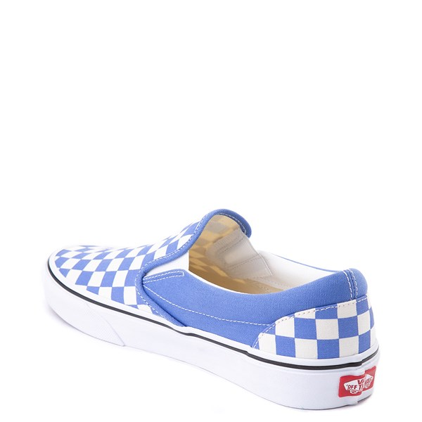 alternate view Vans Slip On Checkerboard Skate Shoe - Ultramarine BlueALT2