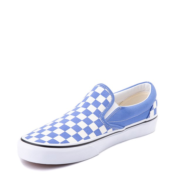 alternate view Vans Slip On Checkerboard Skate Shoe - Ultramarine BlueALT3