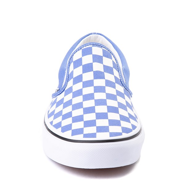 alternate view Vans Slip On Checkerboard Skate Shoe - Ultramarine BlueALT4