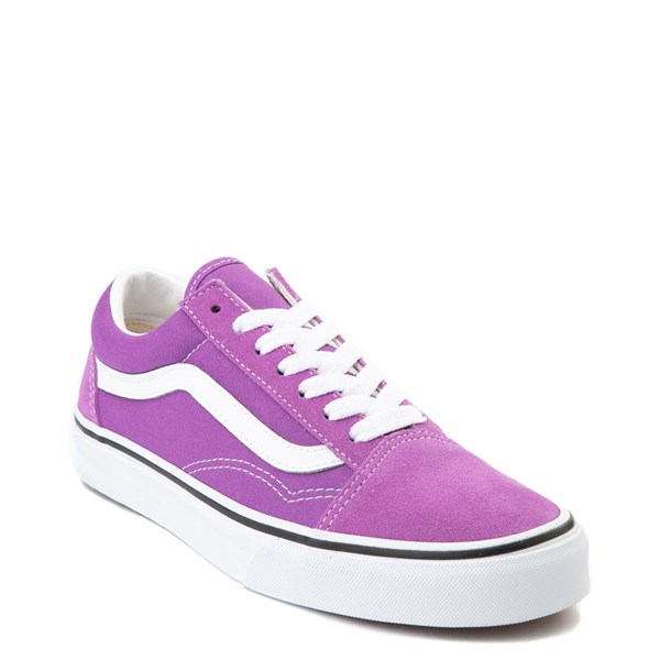 Alternate view of Vans Old Skool Skate Shoe - Dewberry Purple
