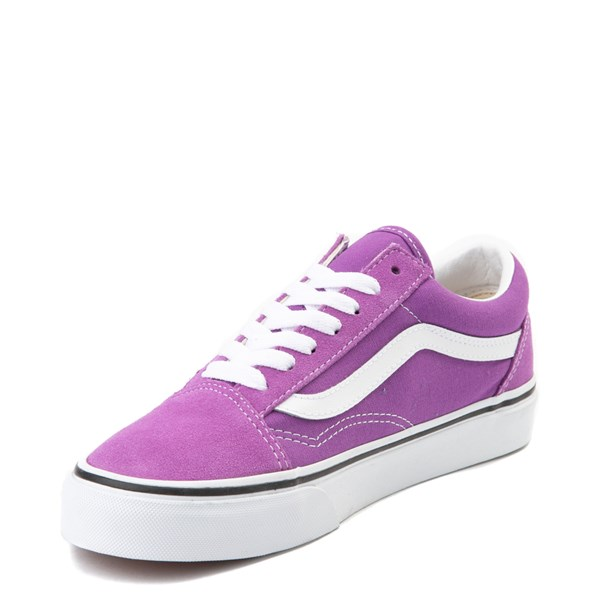 alternate view Vans Old Skool Skate Shoe - Dewberry PurpleALT3