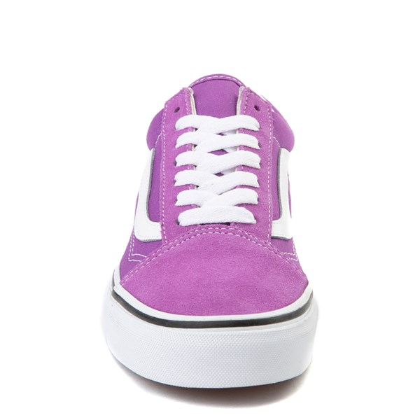 alternate view Vans Old Skool Skate Shoe - Dewberry PurpleALT4