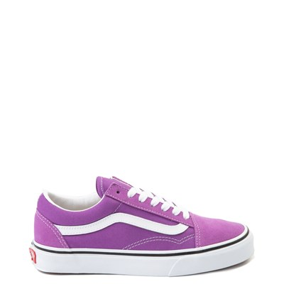 Main view of Vans Old Skool Skate Shoe - Dewberry Purple