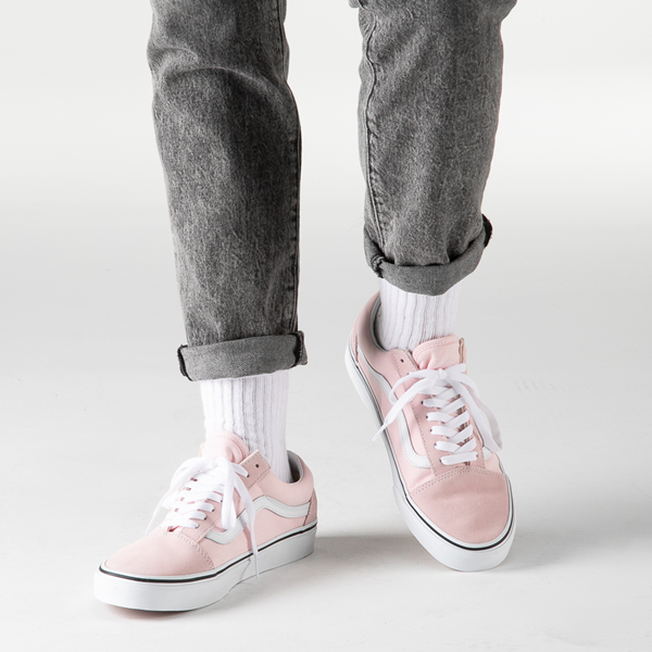 alternate view Vans Old Skool Skate Shoe - Blushing PinkB-LIFESTYLE1