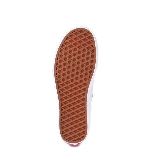 alternate view Vans Authentic Iridescent Checkerboard Skate Shoe - Black / MultiALT5