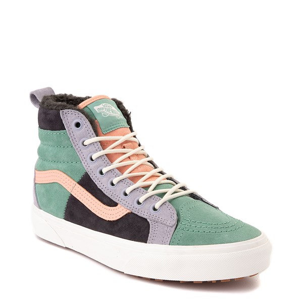 alternate view Vans Sk8 Hi 46 MTE DX Skate Shoe - Creme de Menthe / ObsidianALT1