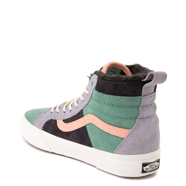 alternate view Vans Sk8 Hi 46 MTE DX Skate Shoe - Creme de Menthe / ObsidianALT2