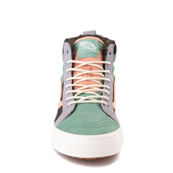 alternate view Vans Sk8 Hi 46 MTE DX Skate Shoe - Creme de Menthe / ObsidianALT4