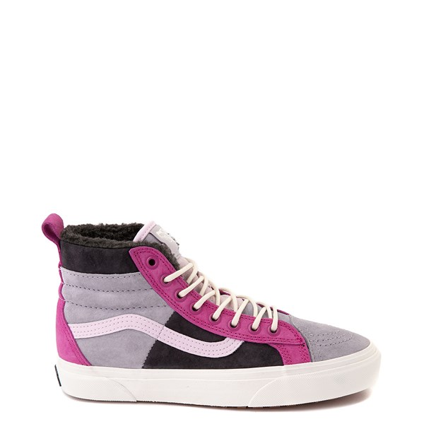 Default view of Vans Sk8 Hi 46 MTE DX Skate Shoe - Lilac Gray / Obsidian
