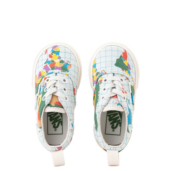 "alternate view Vans Era ""Save Our Planet"" Skate Shoe - Baby / Toddler - White / MultiALT6"