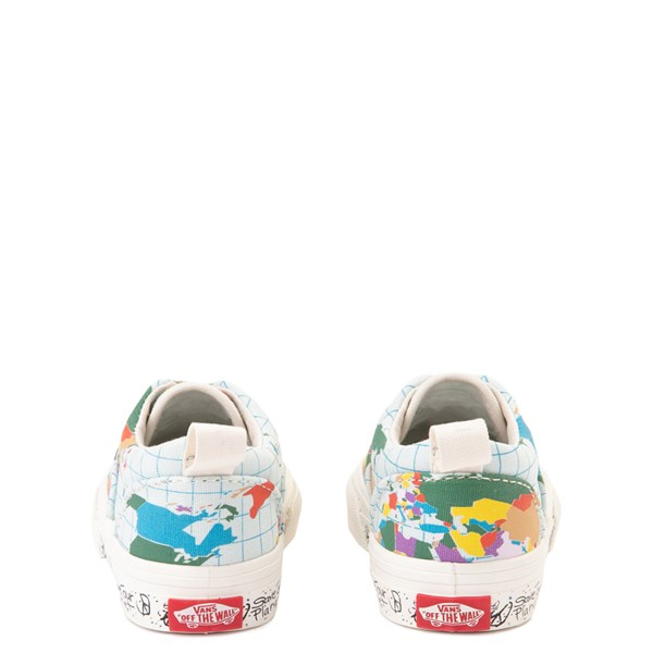 "alternate view Vans Era ""Save Our Planet"" Skate Shoe - Baby / Toddler - White / MultiALT7"