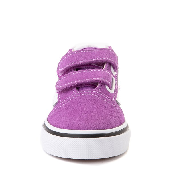 alternate view Vans Old Skool V Skate Shoe - Baby / Toddler - Dewberry PurpleALT4