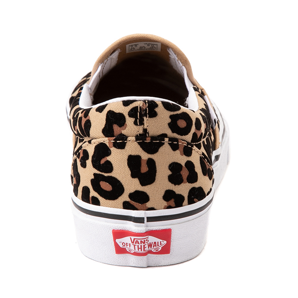 alternate view Vans Slip On Skate Shoe - LeopardALT4