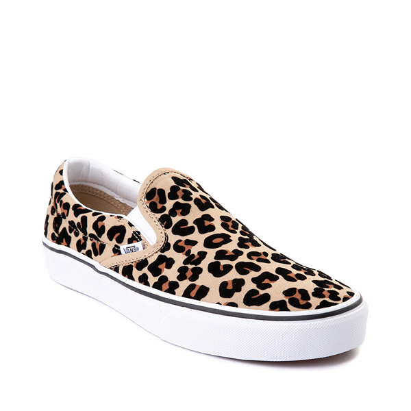 alternate view Vans Slip On Skate Shoe - LeopardALT5
