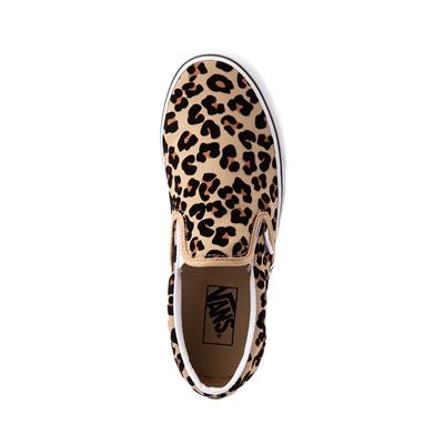 vans slip on leopardo
