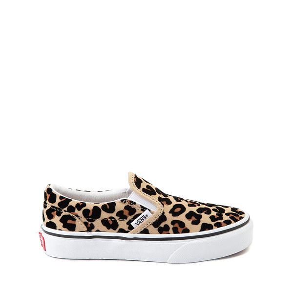Main view of Vans Slip On Skate Shoe - Little Kid / Big Kid - Leopard