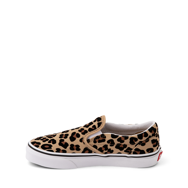 alternate view Vans Slip On Skate Shoe - Little Kid / Big Kid - LeopardALT1