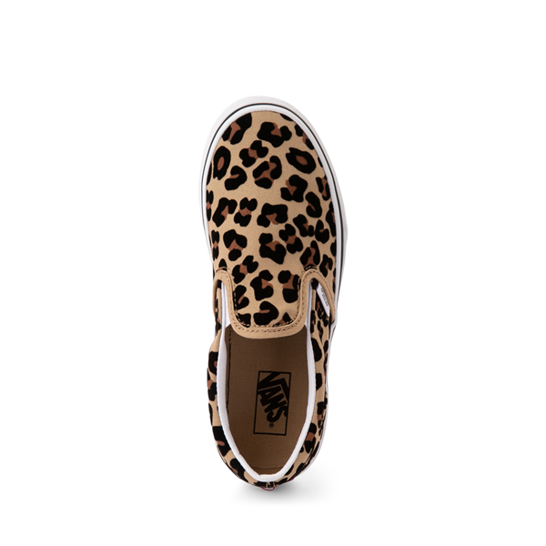 alternate view Vans Slip On Skate Shoe - Little Kid / Big Kid - LeopardALT2