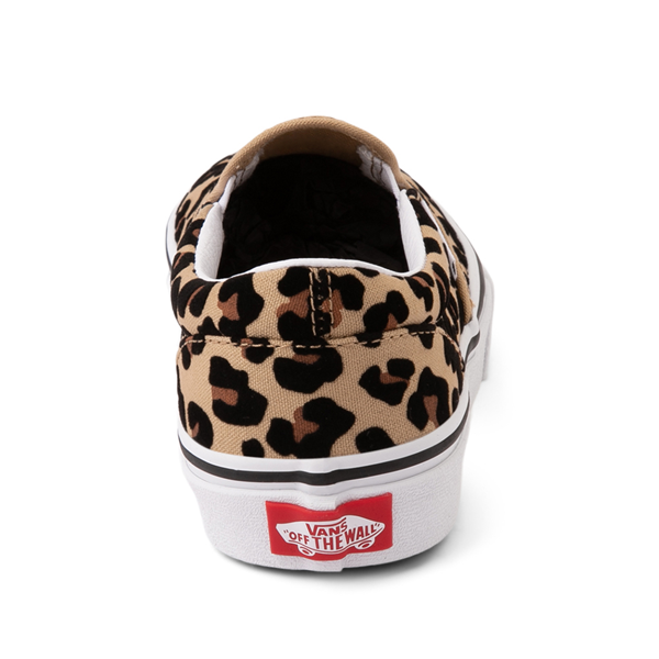 alternate view Vans Slip On Skate Shoe - Little Kid / Big Kid - LeopardALT4