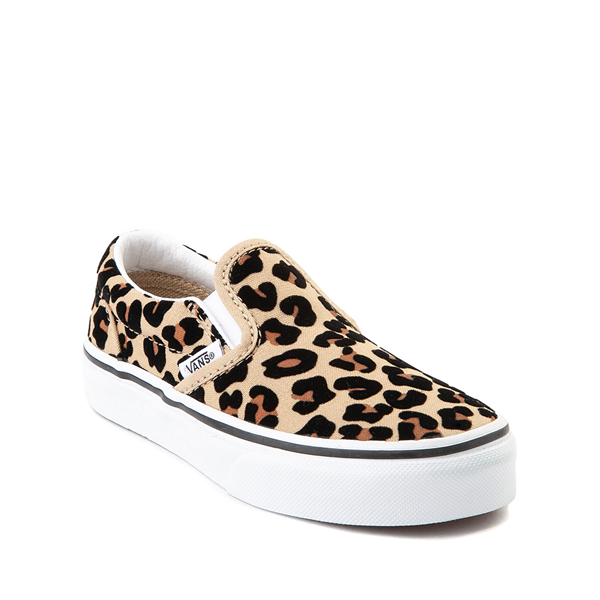 alternate view Vans Slip On Skate Shoe - Little Kid / Big Kid - LeopardALT5