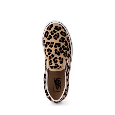 kids leopard print vans