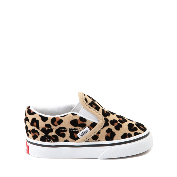 Vans Slip On Skate Shoe - Baby / Toddler - Leopard