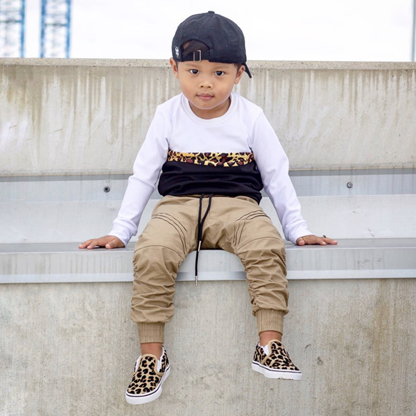 alternate view Vans Slip On Skate Shoe - Baby / Toddler - LeopardALT1B