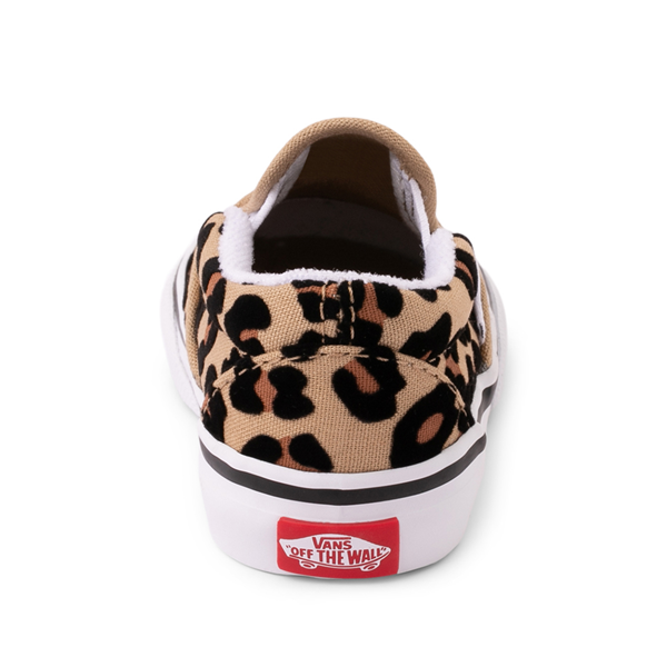 alternate view Vans Slip On Skate Shoe - Baby / Toddler - LeopardALT4