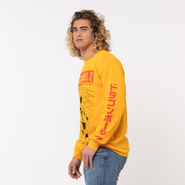 alternate view Mens Dragon Ball Z Long Sleeve Tee - GoldALT2