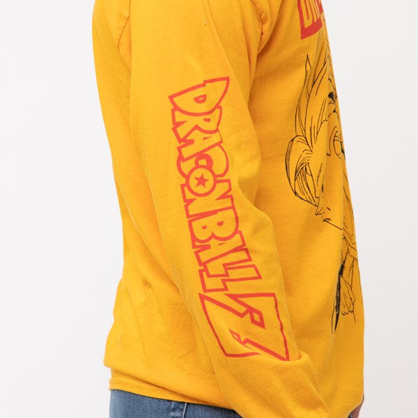 alternate view Mens Dragon Ball Z Long Sleeve Tee - GoldALT6