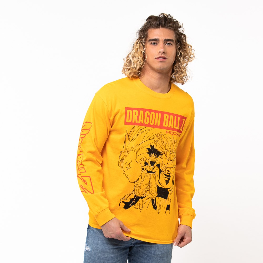 Mens Dragon Ball Z Long Sleeve Tee