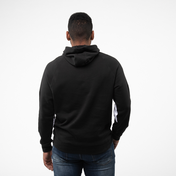 alternate view Mens adidas Big Trefoil Hoodie - BlackALT3