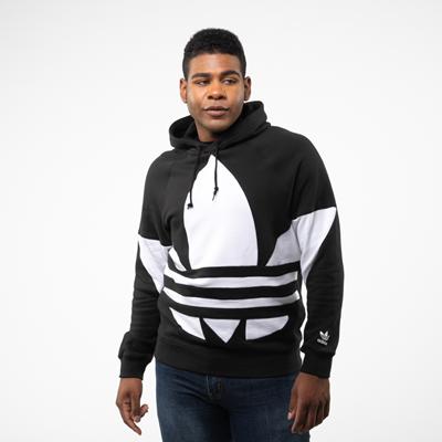 Main view of Mens adidas Big Trefoil Hoodie