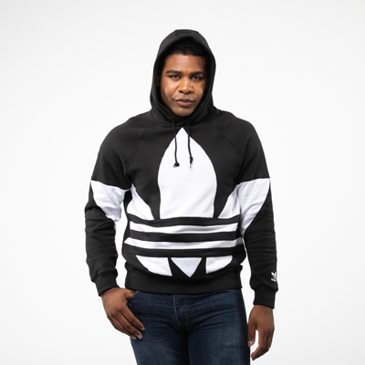 Alternate view of Mens adidas Big Trefoil Hoodie